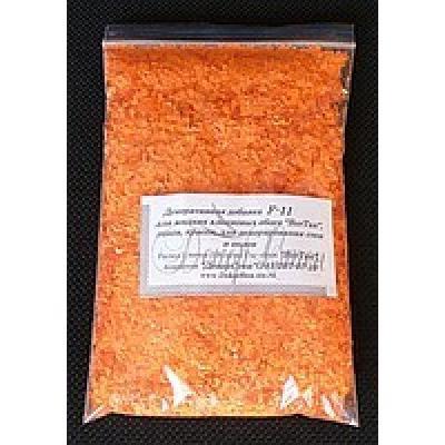 Минеральные декоративные добавки для жидких обоев (Оранжевый)