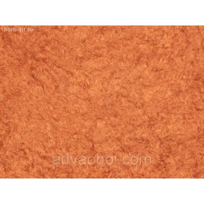 Жидкие обои Т241 рыже-коричневый